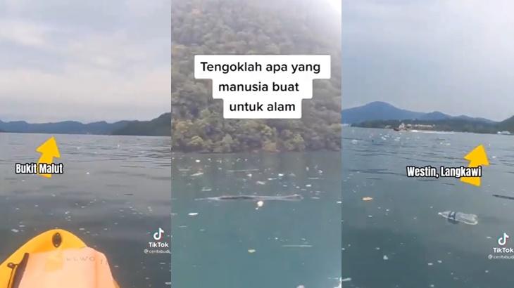 Video Lautan Sampah Bukit Malut Langkawi