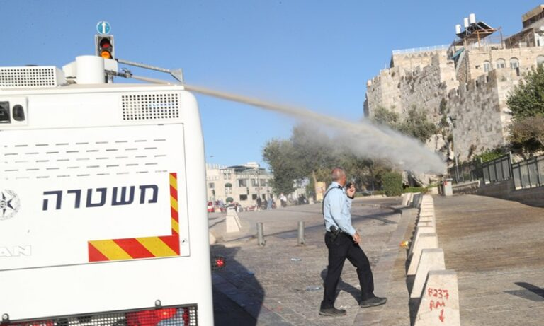 Sambutan Maulidur Rasul Bertukar Tragedi, Rakyat Palestin Diserang Tentera Israel Dengan 'Air Skunk' 2