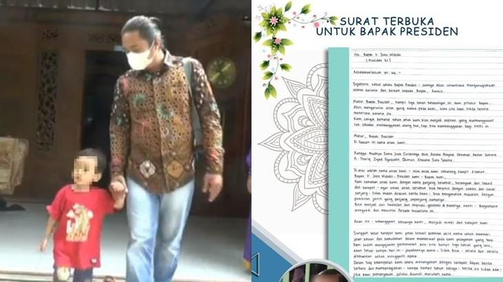 Nama Anak 19 Perkataan Mohon Bantuan Jokowi