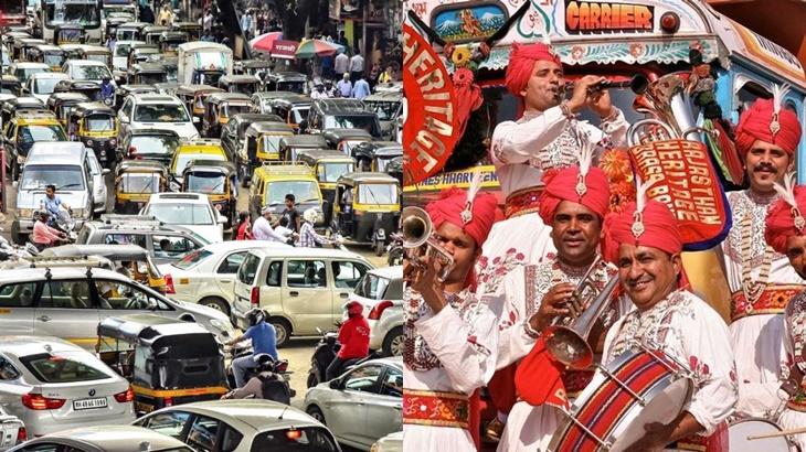 India Tukar Hon Kenderaan Bunyi Muzik