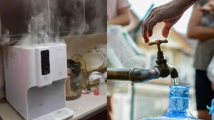 Tutup Mesin Penapis Air Gangguan Bekalan Air