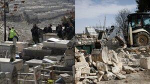 Israel Musnahkan Kubur Palestin Untuk Bina Taman